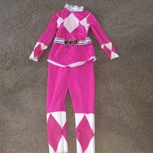 Power rangers pink ranger sz 8-10